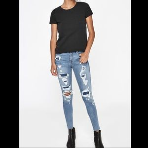 Pacsun high rise jegging Figueroa Blue